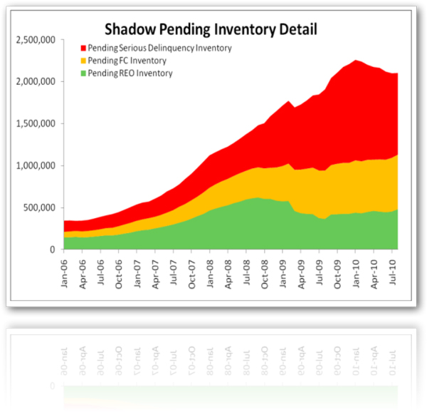 CareLogic Shadow Inventory Report for August 2010